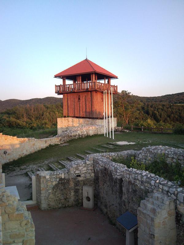 Castle of Szarka in Solymár